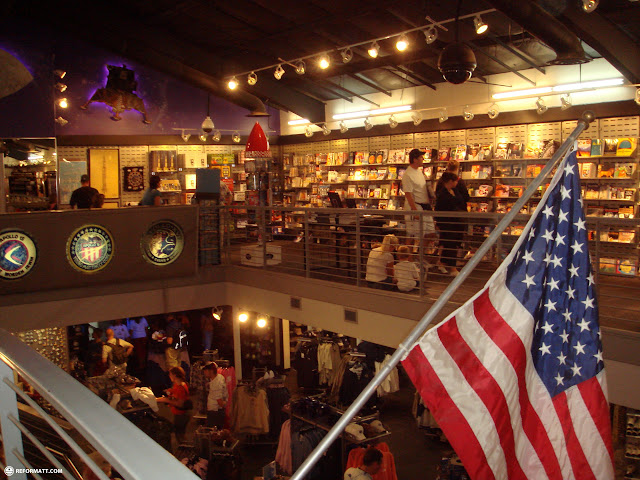 gift shop at kennedy space center in Cape Canaveral, Florida, United States