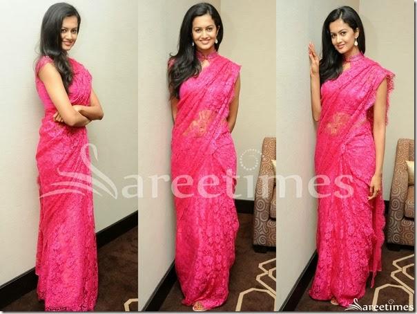 Subrah_Aiyappa_Pink_Saree