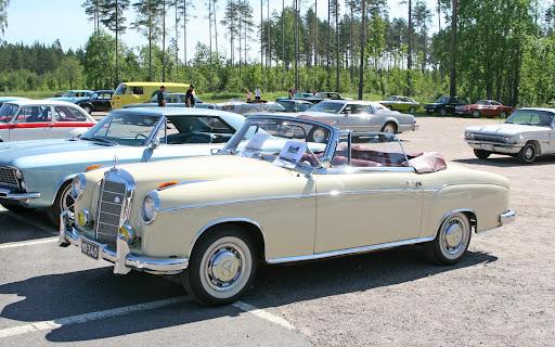 1956 Mercedes Benz 220S