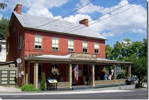 Cashtown Inn in Adams County, PA in front of old Route 30