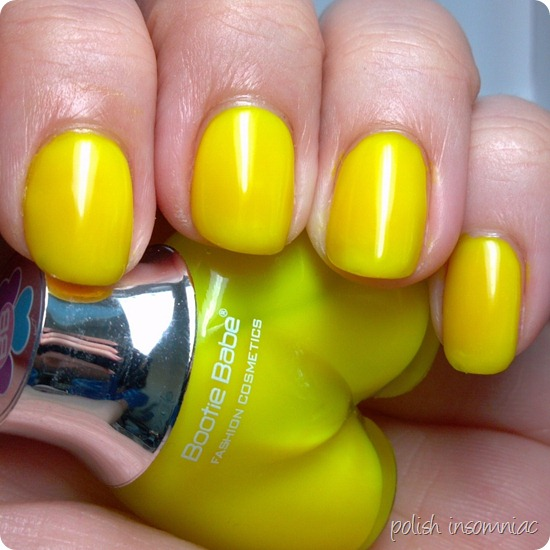 Bootie Babe Electric Lemon