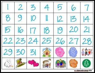 Spanish Calendar1