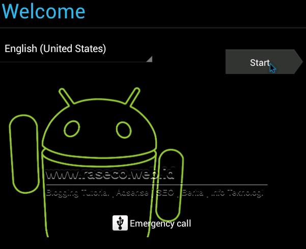 Langkah 3 Uji Coba Android Ice Cream Sandwich di Laptop