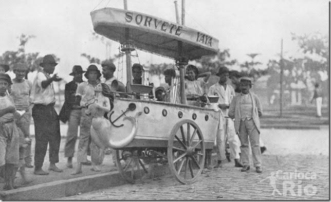 Barraquinha de Sorvete Yaya - 1919