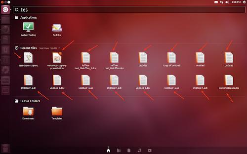 Unity Google Docs di default su Ubuntu 12.10