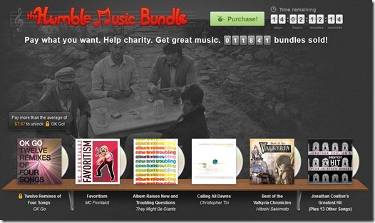 Humble music bundle