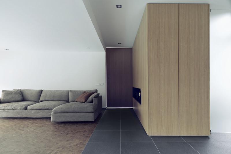 Kastdeuren zijn te openen middels Tip-Touch