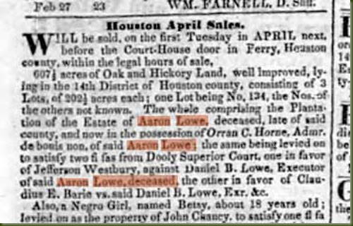 Orran-C-Horne-selling-Aaron-Lowe-estate-in-1844