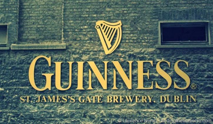 Guinness Brauerei in Dublin, Irland