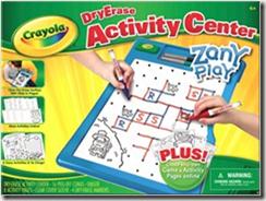 crayola dry erase zany play