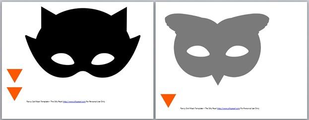 Beak Templates Masks Mask Templates The Silly