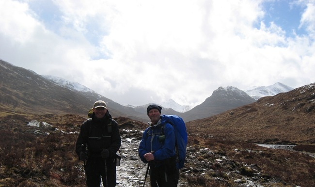 THE BOYS, LOOKING BACK TO SGURR INNSE