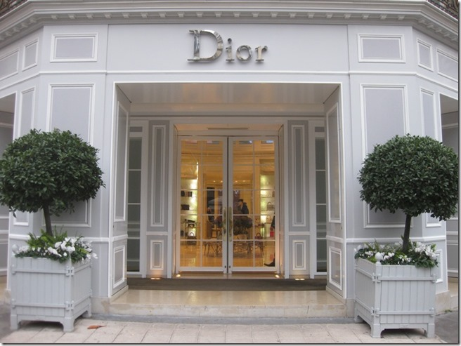 dior paris entry