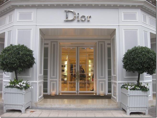 dior paris entry