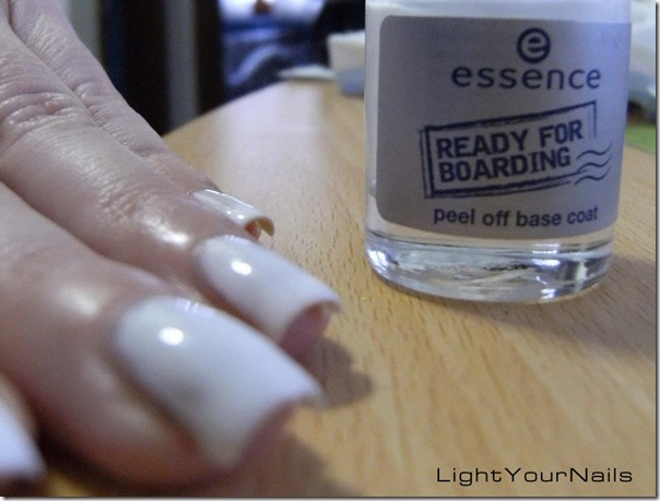 Essence peel off base coat