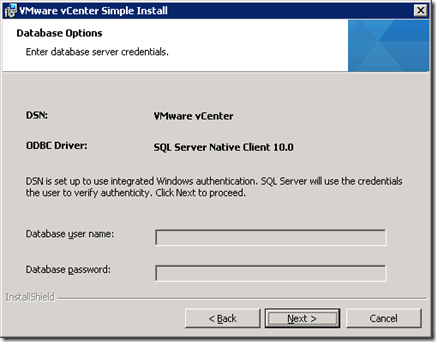 22_vCenter Server Database Option