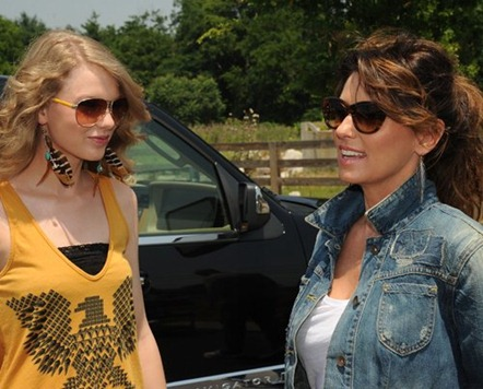 Taylor Swift y Shania Twain