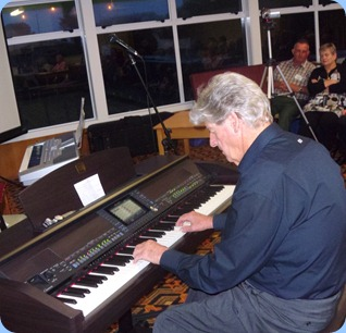 Ian Jackson gave us a cameo covering a broad spectrum of genres on our Clavinova CVP-509