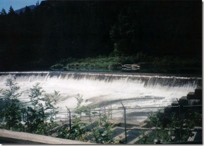 Tumwater Dam in 1998