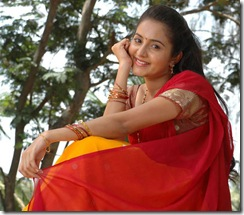 Bhama in half saree photos
