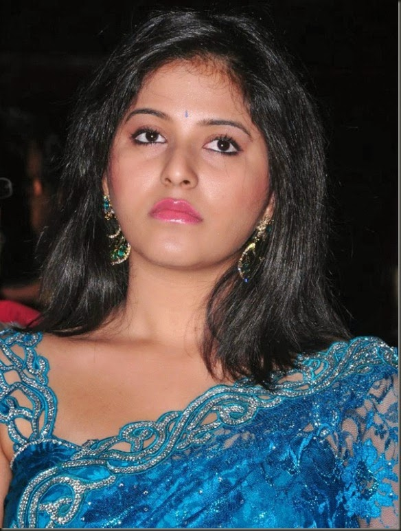 Anjali Latest Saree Images @ Preminchali Audio Launch