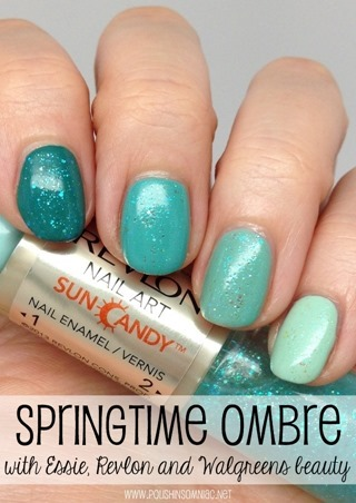 Springtime Ombre with Essie and Revlon! #WalgreensBeauty #shop #cbias