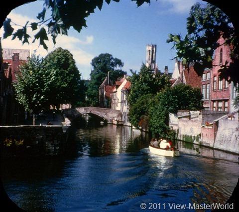 View-Master Belgium (B188), Scene 20: Bruges