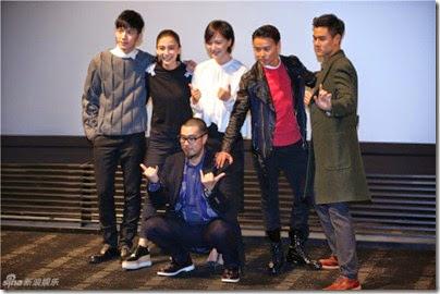 2014.11.19 Eddie Peng during Rise of the Legend - 彭于晏 黃飛鴻之英雄有夢 提前觀影會 02