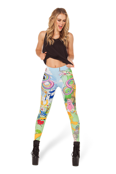Land of Ooo Leggings from Black Milk Clothing
