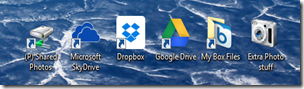 A few desktop apps I have been experimenting with to share files.