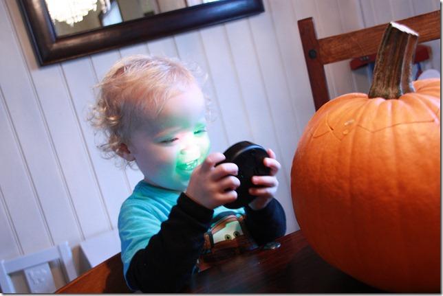 halloween gresskarutskjæring IMG_7316