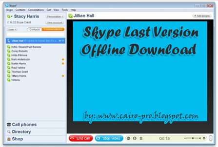 Skype Last Version Offline Download 5.10.0.116