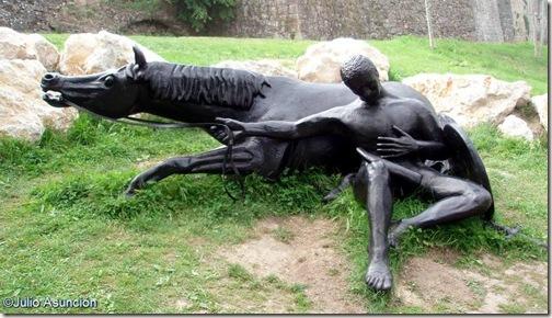 La  muerte de Roldán - Roncesvalles - Navarra