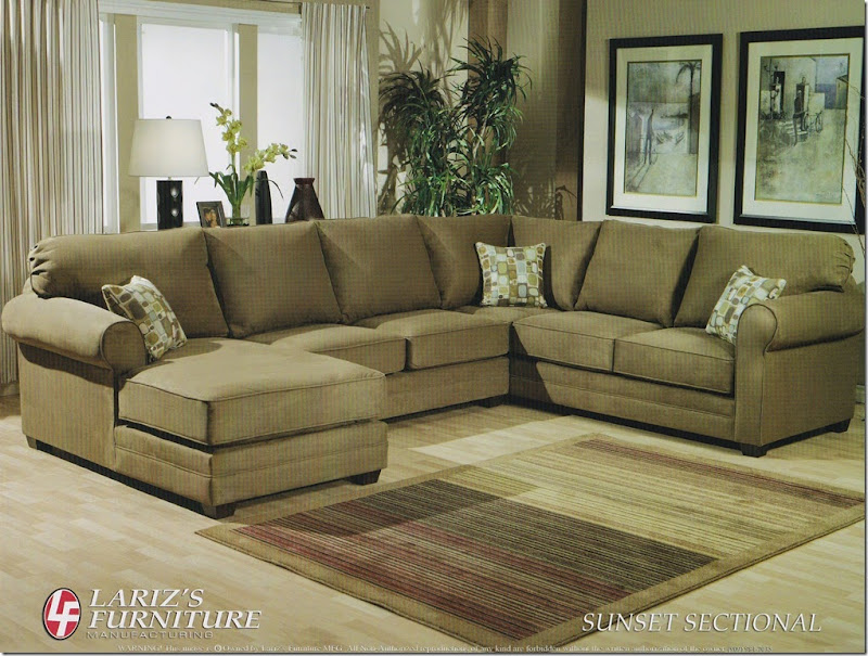 LARIZ'S SUNSET SECTIONAL