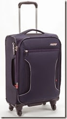 Antler Cyberlite Cabin Luggage - Black and Red Also