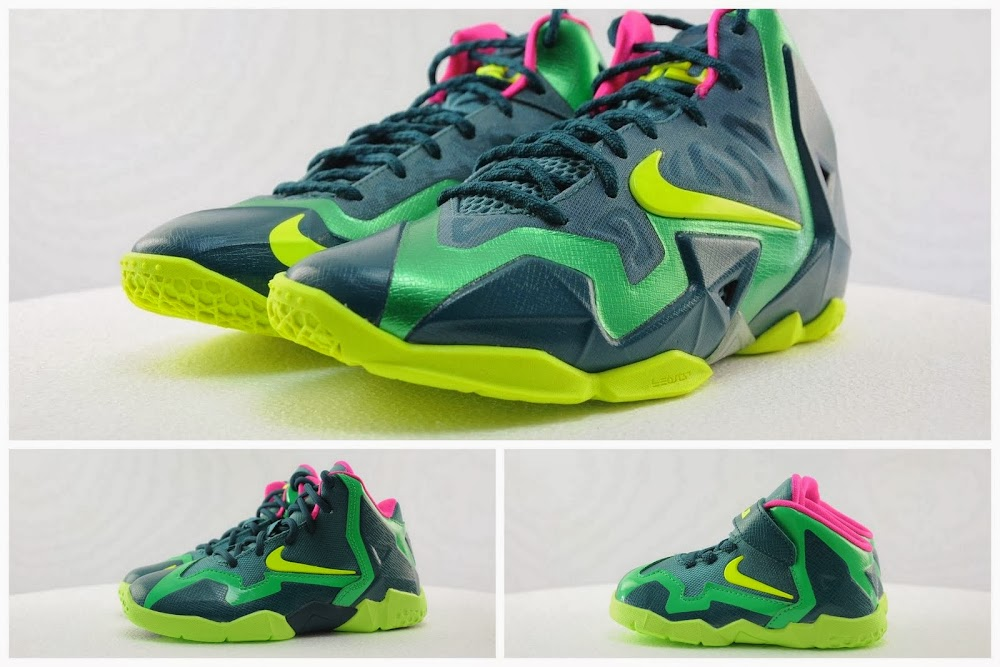 1f72d1ad2d99c Kids8217 Nike LeBron XI 8211 GS PS amp Toddler 8211 Available Now ...
