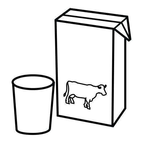 Dibujos de un litro de leche para colorear - Imagui