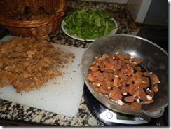 Preparar as amendoas. Out.2012