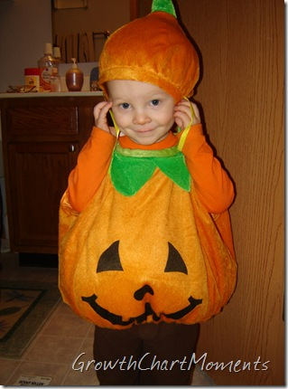 Cute little Punkin'