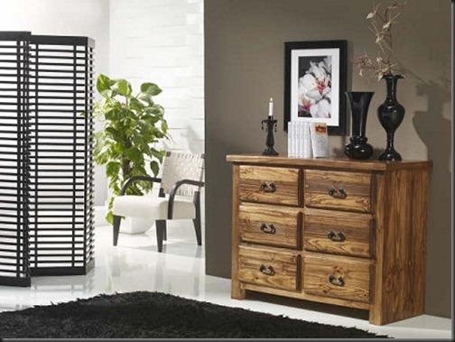 Comodas rusticas para tu habitacion - Comodas para habitacion ...