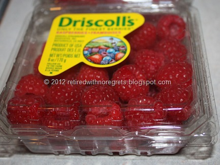 Driscoll's Raspberries - frozen