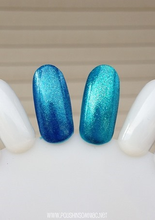 OPI The Sky's The Limit vs Catch Me In Your Net