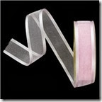 pink satin edge ribbon
