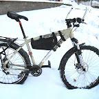 Велосипед с установленной втулкой