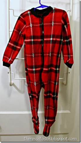 Red Footie Jammies