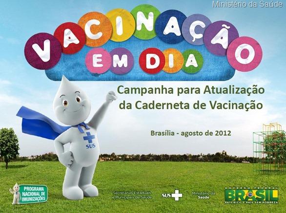 Campanha vacinacao agosto