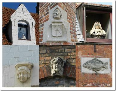 médaillons Bruges