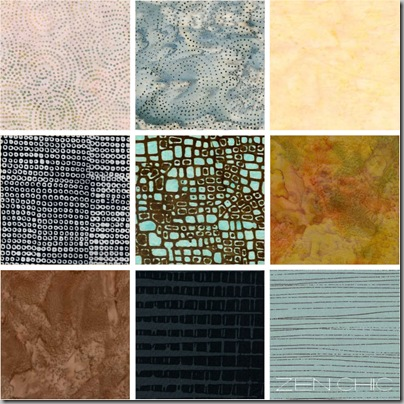 Fabric choices for modern quilts