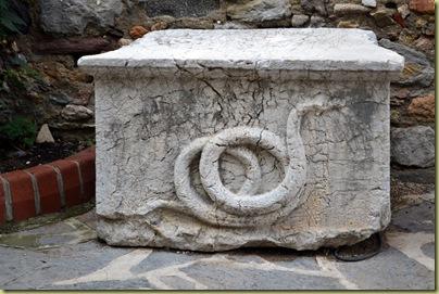 Bodrum Castle Snake