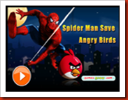 Angry Birds e o Homem Aranha